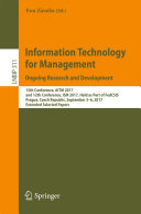 Information Technology for Management. Ongoing Research and Development Pdf/ePub eBook