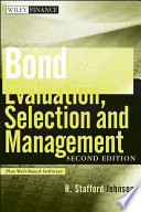 Bond Evaluation  Selection  and Management