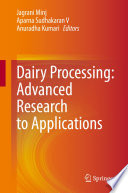 Dairy Processing  Advanced Research to Applications