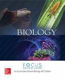 Raven  Biology    2017  11e  Reinforced Binding  AP Focus Review Guide Book