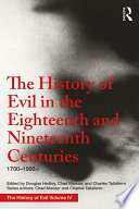 The History of Evil in the Eighteenth and Nineteenth Centuries