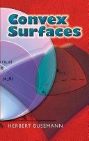Convex Surfaces