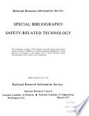 Special Bibliography Safety Related Technology