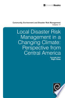 Local Disaster Risk Management in a Changing Climate Book