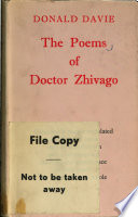 The Poems of Dr. Zhivago