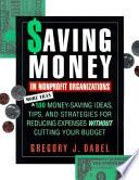 Saving Money in Nonprofit Organizations