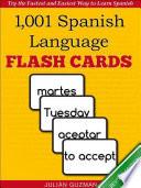 1 001  Spanish Language Flash Cards