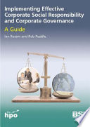 Implementing Effective Corporate Social Responsibility and Corporate Governance