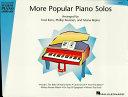 More Popular Piano Solos   Level 1  Songbook