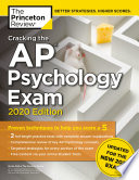 Cracking the AP Psychology Exam, 2020 Edition