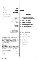 Ohio Library Association Bulletin
