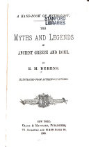 A Hand book of Mythology