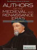Authors of the Medieval and Renaissance Eras  1100 to 1660