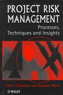 Cover of Project risk management