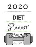 2020 Diet Plannet Calendar Book