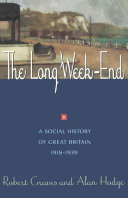 The Long Week End Book
