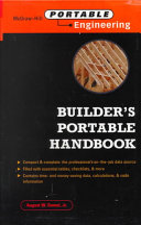 Builder s Portable Handbook