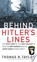 Behind Hitler s Lines