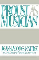 Proust as Musician