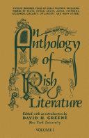An Anthology of Irish Literature