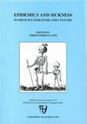 Epidemics and sickness in French literature and culture