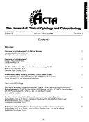 Acta Cytologica Book