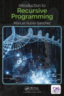 Introduction to Recursive Programming [Pdf/ePub] eBook