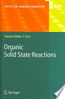 Organic Solid State Reactions Book