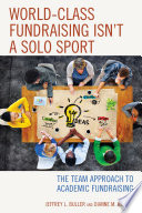 World Class Fundraising Isn t a Solo Sport Book