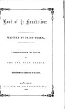 The Book of the Foundations of S. Teresa
