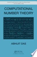 Computational Number Theory