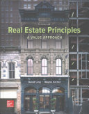 Cover of Real Estate Principles: A Value Approach