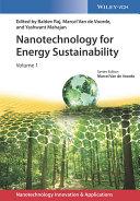 Nanotechnology for Energy Sustainability, 3 Volume Set