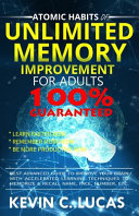 Atomic Habits of Unlimited Memory Improvement for Adults Book