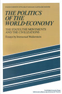 The Politics of the World Economy