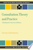 Consultation Theory And Practice Book PDF
