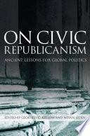 On Civic Republicanism