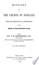 History of the Church of Scotland Book