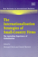 Pdf The Internationalisation Strategies of Small-country Firms Telecharger