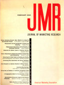 JMR, Journal of Marketing Research