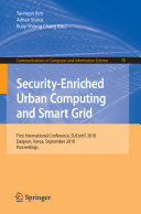 Security Enriched Urban Computing and Smart Grid Book