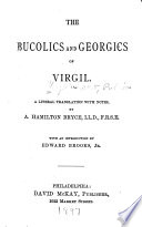 The Bucolics and Georgics of Virgil