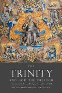 The Trinity And God The Creator