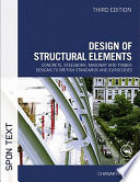 Design of Structural Elements