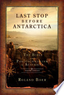 Last Stop Before Antarctica Book