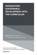 Integrating Sustainable Development into the Curriculum