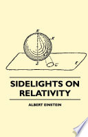 Sidelights on Relativity  Illustrated Edition