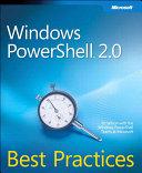 Windows PowerShell 2 0 Best Practices