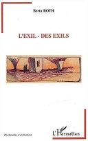 L'Exil - Des exils