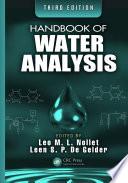 Handbook of Water Analysis  Third Edition